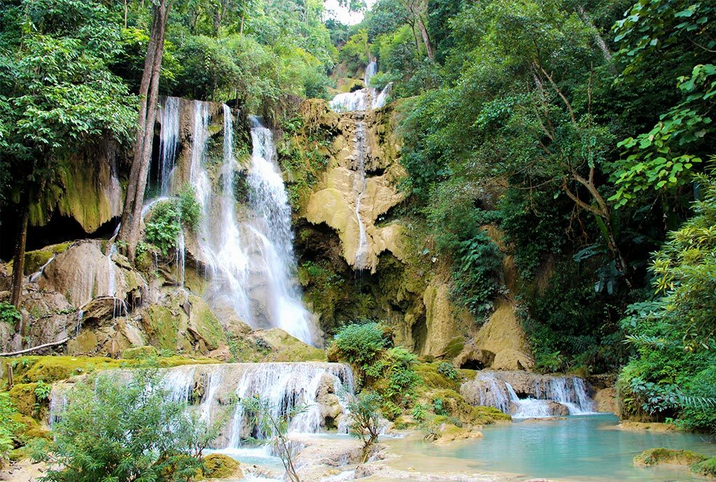 Kuangsi-Waterfall